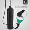 CELLONIC® DMW-RS1 DMW-RSL1 Câble de déclenchement pour Panasonic Lumix DC-G9 DMC-FZ1000 FZ200 FZ2000 FZ300 DMC-G5 G6 G7 G70 G81 DMC-GH2 GH4 GH4 DC-GH5 GH5s DMC-GX8