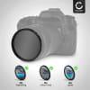 Neutraldichte Filter ND8 für Ø 49mm Graufilter, Langzeitbelichtung