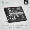Batería para Ricoh CX3 CX4 CX5 CX6, Ricoh GR Digital III, Ricoh HZ15, Ricoh PX, Ricoh Theta V - 37838 D-LI92 DB-100 LB-050 770mAh Batería Reemplazo