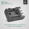 Batterij voor Canon EOS 400D EOS 350D EOS Digital Regel XTi PowerShot G7 G9 S50 HG10 HF R16 R106 MD235 VIXIA HV30 ZR800 camera - NB-2L NB-2LH BP-2L5 700mAh Vervangende Accu voor fototoestel