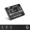 subtel® batteri til mobiltelefoner Motorola RAZR V3 / V3i / V3im / V3xx / PEBL U6 - BA700, BR50 710mAh - udskift dit mobilbatteri og få mere ud af din mobil
