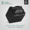 Akku für Canon LEGRIA HF G10 G25 HF20 HF21 HF200 HG20 HG21 HF M31 - BP-807,-808,-809,-819,-827 (1780mAh) Ersatzakku