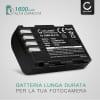 Batteria CELLONIC® DMW-BLF19 DMW-BLF19E DMW-BLF19PP per Panasonic GH5 Lumix DC-GH5s DMC-GH4 GH4 GH4r GH4h GH3 Lumix DMC-GH3h GH3a G9 Lumix DC-G9 Affidabile ricambio da 1600mAh sostituzione