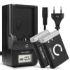 2x Batterie pour appareil photo Canon PowerShot G7 X Mark II G1x Mark III G5 X G9 X Mark II SX740 HS SX 620 HS SX720 HS SX730 HS - NB-13L 1050mAh + Chargeur CB-2LHE Batterie Remplacement