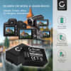 2x Kamera Akku für Panasonic Lumix DC-FZ82 DMC-FZ72 DMC-FZ70 DMC-FZ100 DMC-FZ150 DMC-FZ45 DMC-FZ40 DMC-FZ47 DMC-FZ48 DMC-FZ62 DMC-FZ60 - DMW-BMB9E DMW-BMB9 Ersatzakku 800mAh , Batterie