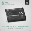 Bateria para camaras Nikon CoolPix W150 W100, A100 A300, S33 S2600 S2700 S2800 S3100 S3300 S3500 S3700, S7000, RX0 II - EN-EL19 NP-BJ1 700mAh ENEL19 Batería de repuesto