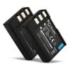 2x Kamera Akku für Nikon D3000 D5000 D60 D40 D40x - EN-EL9 Ersatzakku 1000mAh EN-EL9e, EN-EL9a, ENEL9a, EN EL9e, Batterie