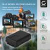 Batterij voor Panasonic HDC-SD40 -SD60 HDC-TM60 -TM55 HDC-HS60 SDR-S50 -S70 SDR-H85 SDR-T50 -T55 -T70 HC-V110 -V130 -V201 camera - VW-VBY100 VW-VBL090 850mAh Vervangende Accu voor fototoestel