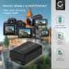 Batterie pour appareil photo Hasselblad Lunar - NP-FW50 1050mAh NP-FW50 Batterie Remplacement