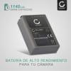 Bateria para camaras Olympus OM-D E-M1, OM-D E-M5 (Mark II), Pen E-P5, Pen-F - BLN-1 1140mAh BLN-1 Batería de repuesto