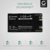BP-975 BP-955 BP-925 BP-970 Battery for Canon XF100 XF105 XF200 XF205 XF300 XF305 G-1000 XL1s XL1 XL2 EOS C100 Mark II 7800mAh Digital Camera Battery Replacement Spare Battery Backup Power Pack