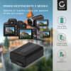 Batteria CELLONIC® NP-FW50 per Hasselblad Lunar Affidabile ricambio da 1050mAh sostituzione