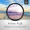 Filtro a Fluorescenza FLD per Ø 77mm Filtro FD