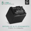 Batería para Canon LEGRIA HF G10 G25 HF20 HF21 HF200 HG20 HG21 HF M31 - BP-807,-808,-809,-819,-827 (1780mAh) Batería de Reemplazo
