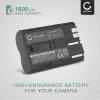 Batterie pour appareil photo Canon EOS 5D EOS 50D, EOS 40D, EOS 30D 300D, EOS 20D 20Da, EOS 10D, EOS D60, Canon PowerShot G3 G5 G6 G1 G2, Pro1, Canon MV700 MV500 MC300, Canon Optura, Canon ZR, Canon FV - BP-511,-512,-514,BP-508 1600mAh Batterie Remplacement