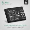 Batteri för Samsung WB35F, DV150F, WB50F, ST30, ST70, WB30F, ST150F, ST72, ES65, MV800 - BP70A, AD43-00194A (700mAh)