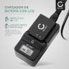 Cargador para (Easypix NP-60 / NP-120 (DTX5500 / DV5011 / DV5311 / DVX5050 full HD / DV5311 HD / DVX5270 HD)) Fuente de alimentación