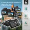 2x Kamera Akku für Samsung MV800 WB30f WB35f WB50f DV150f ST30 ST65 ST66 ST70 ST72 ST77 ST150f PL20 PL100 PL120 ES65 ES70 ES75 ES80 ES90 TL205 - BP70A AD43-00194A Ersatzakku 700mAh , Batterie