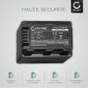 2x Batterie pour appareil photo Panasonic HC-V777 -V800 -V770 -V760 -V750 -V520 -V380 -V270 -V180 -V10 HC-VXF990 HC-VX980 HC-W580 HDC-SD60 -SD40 SDR-S50 - VW-VBT190 -VBT380 -VBK180 4040mAh Batterie Remplacement