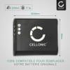 Batterie pour Ricoh CX3 CX4 CX5 CX6, Ricoh GR Digital III, Ricoh HZ15, Ricoh PX, Ricoh Theta V - 37838 D-LI92 DB-100 LB-050 770mAh Batterie Remplacement