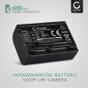 Batterij voor Sony FDR-AX33 AX53 AX100e HDR-PJ810 PJ530e PJ330e PJ260 HDR-CX625 CX190 CX220 CX250 CX280 camera - NP-FV50 NP-FV70 NP-FV100 650mAh NP-FV50 Vervangende Accu voor fototoestel