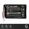 CELLONIC® GPS Battery for Navigon 42 72 92 (Easy + Plus + Premium + Essential) 541384120003 GTC39110BL08554 S541384120003 1000mAh SatNav Sat Nav Battery Replacement