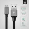 Datenkabel für Gigaset QV830 / QV1030 - 2m, 2A USB Kabel Ladekabel, grau