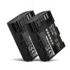 2x Kamera Akku für Canon EOS 5D Mark II III IV EOS 5DS R EOS 60D 60Da 6D Mark II EOS 70D EOS 7D Mark II EOS 80D EOS R - LP-E6 LP-E6N Ersatzakku 2000mAh , Batterie