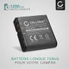Batterie pour DXG-5B1V DXG-535V DXG-125V -580V 566V -517V -5B7V -531V -534V -533V - NP-40 (1250mAh) Batterie de remplacement