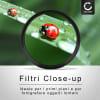 4x Filtri ravvicinati Macro per Hasselblad Lunar 16mm 2.8 Hasselblad Lunar 18-55mm 3.5-5.6 OSS (Ø 49mm) Filtri Close-Up