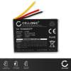 Batterie pour appareil photo GoPro ARMTE-001 ARMTE-002 Hero 3 Hero 3plus Hero 4 Wi-Fi Remote - YD362937P LiPo Model RC 2 350mAh Batterie Remplacement