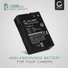 CELLONIC® Nikon EN-EL14 EN-EL14a Battery for Nikon D5600 D5500 D5300 D5200 D5100, Nikon D3500 D3400 D3300 D3200 D3100, Nikon Df, Nikon CoolPix P7800 P7700 P7100 P7000 1050mAh Digital Camera Battery Replacement Spare Battery Backup Power Pack