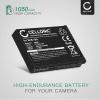 Kamera Akku für Praktica SC-1 - SLB-10A Ersatzakku 1050mAh SLB-10A, Batterie