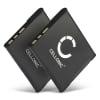 2x Batterie pour appareil photo Sony Cyber-shot DSC-WX80 DSC-QX10 DSC-QX100 DSC-TX30 DSC-W830 - NP-BN1 580mAh NP-BN1 Batterie Remplacement