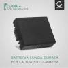 Batteria CELLONIC® CGA-S002e,CGA-S002e-1B,CGR-S002,DMW-BM7 per Panasonic Lumix DMC-FZ10, DMC-FZ20, DMC-FZ5, -FZ1, -FZ15, -FZ2, -FZ3, DMC-FC20 Affidabile ricambio da 700mAh sostituzione