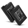 2x Ersatz Akku für Sony PSP Brite (3000 / 3001 / 3004) / PSP Slim & Lite (2000 / 2004) - Ersatzakku PSP-S110 1200mAh , Batterie