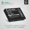 Batterie pour appareil photo Samsung WB1100f WB150f WB200f WB2100 WB250f WB350f WB352 WB500 WB690 EX2f PL50 PL65 M110 ES55 ES60 L100 L200 - SLB-10A 1050mAh Batterie Remplacement