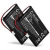 2x Batterie pour Grundig Calios 1, Calios A1, Calios H1, BTI Verve 500 Black, BTI Verve 500 Red, BTI Verve 500 SMS - CP76,LZ423048,LZ423048BT,RP423048 (600mAh) Batterie de remplacement