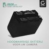 Batterij voor Sony DSR-PD150, -PD170, FDR-AX1, DCR-VX2100, GV-D200, HDR-FX7e, -FX1, -FX1000 - NP-F960, NP-F970 (6600mAh) vervangende accu
