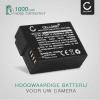 Batterij voor Panasonic Lumix DMC-FZ1000 DMC-FZ200 DMC-FZ2000 DMC-FZ300 DMC-G5 DMC-G6 DMC-G7 DMC-G70 DMC-G81 camera - DMW-BLC12 DMW-BLC12E 1000mAh Vervangende Accu voor fototoestel