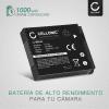 Bateria para camaras Canon PowerShot SX530 SX500 IS SX510 HS SX520 HS SX540 HS SX260 HS SX170 IS SX610 HS SX710 HS S120 S95 - NB-6L NB-6LH 1000mAh Batería de repuesto
