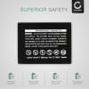 NP-W126 Battery for FujiFilm Fuji X-T3 -T30 X-T100 -T10 -T1 X-T20 -T2 X-H1 X-E3 -E2 -E2s -E1 X-A3 -A10 -A5 -A2 -A1 X-Pro2 -Pro1 X100f FinePix HS30exr 1140mAh Digital Camera Battery Replacement Spare Battery Backup Power Pack