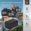 Kamera Akku für Panasonic HC-V180 V10 V100 V160 V270 V380 V500 V777 V800 HC-VXF990 HC-VX980 HC-W580 HDC-SD40 - VW-VBT190 VW-VKB180 -VBY100 Ersatzakku 1780mAh , Batterie