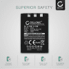 Kamera Batteri til Olympus C-770 C-765 Ultra Zoom C-760 C-50 Zoom C-60 C-70 C-5000 C-7000 FE-200 Stylus 300 Mju 400 300 IR-500 Micro 600 X-500 D-590 - LI-10B,LI-12B 1100mAh Udskiftsningsbatteri til kamera