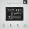 Batterie pour appareil photo Canon XA10 XA20 XA25 XA30 XA35 XA40 XA50 XF405 LEGRIA HF G25 G10 G30 HF S21 HF M46 - BP-808 BP-820 BP-827 BP-828 2670mAh Batterie Remplacement