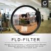 Fluoreszenz Filter FLD für Sigma 10-20mm F3.5 100-300mm F4 20mm F1.8 24-105mm F4 24-70mm F2.8 (Ø 82mm) FD Filter