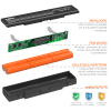 Batteria per HP Envy 15-ae100 / Envy 17-n000 / Envy M7-n000 - MC06 (4400mAh) batteria di ricambio