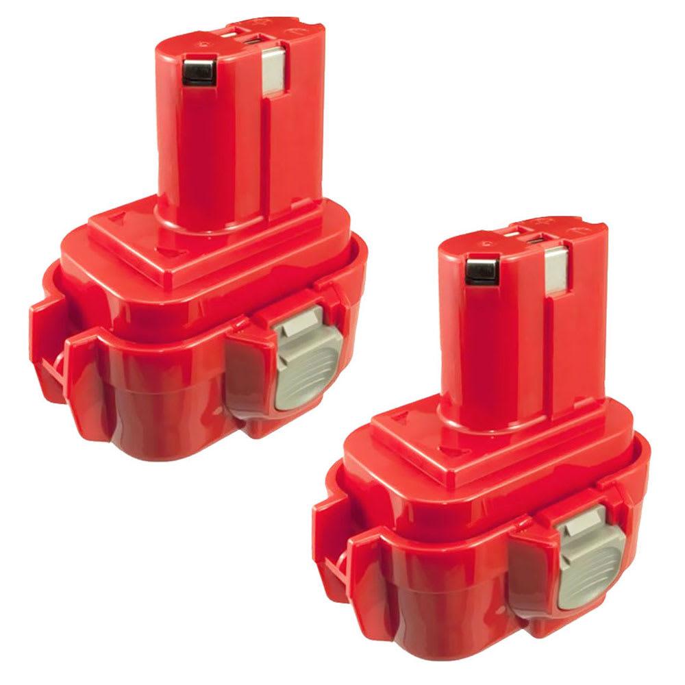 2x Batterie 9.6V, 3Ah, NiMH pour Makita BMR100, 6222d, 6261D, 6207D, 6204D, 6226D, 6260D - 9120,9120, 9134, 9135,9133, 192638-6, 9102 batterie de rechange pour outils électroportatifs