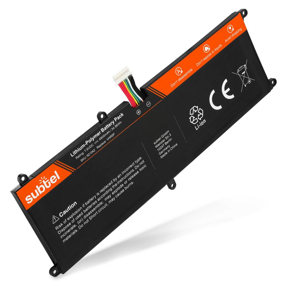 Batterie de remplacement pour ordinateur portable Dell Latitude 11 (5175) / 11 (5179) - VHR5P 4600mAh