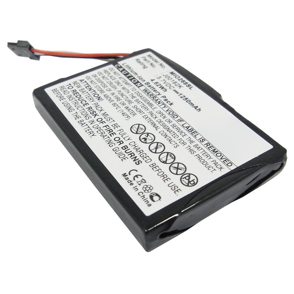 GPS accu voor Mitac Mio 138, Mio 268 Plus, 269 Plus, Mio C310 C510 C710, Mio Digiwalker 268 - BP-LP1230 1250mAh vervangende batterij